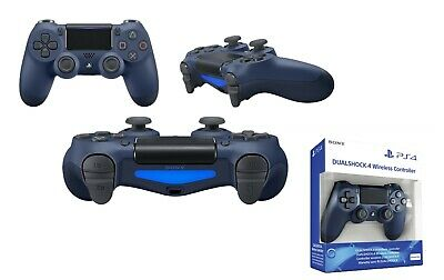 AU99.99 • Buy Midnight Blue PlayStation 4 PS4 Pro DualShock 4 Wireless Gaming Controller New