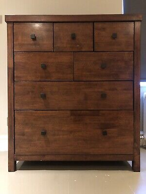 Solid Wood Chest Of Drawers By John Lewis Used • 120£
