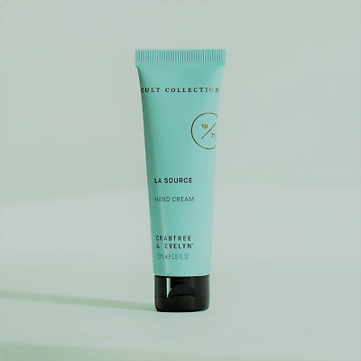 £7 • Buy  Crabtree & Evelyn Archived Cult Collection 25ml La Source Hand Hero Hand Cream