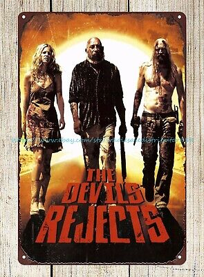Metal Wall Art American Crime Horror Film The Devil's Rejects Metal Tin Sign • 11.29£