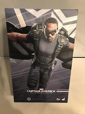 $420 • Buy Hot Toys Falcon Mms245 Captain America The Winter Soldiers 1/6 Scale Figure