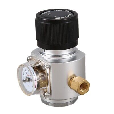 CO2 Mini Gas Regulator CO2 Charger Kit 0-90 PSI Corny Keg Charger For Europ G7C6 • 31.99£