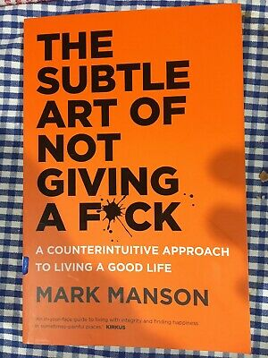 AU29.95 • Buy The Subtle Art Of Not Giving A Fck F*ck F * Ck Fuck FAST FREE SHIPPING Book