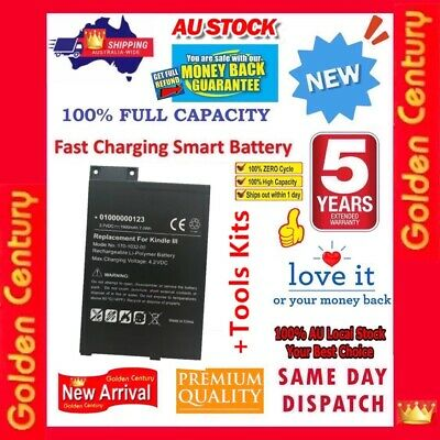 AU25.95 • Buy Fast Charing Battery For Kindle 3 III 3G WIFI D00901 Keyboard 170-1032-01 +Tools