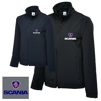 £37.99 • Buy Scania Jacket Softshell Jacket Personalised Embroidered Wind Breaker