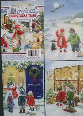 Hunkydory 24 Mix Card Toppers A Magical Christmas Time See Pics See Description • 2.75£