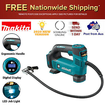 AU159.06 • Buy Makita DMP180Z 18V Li-ion Cordless Tyre Inflator LED Job Light Skin Only Tool