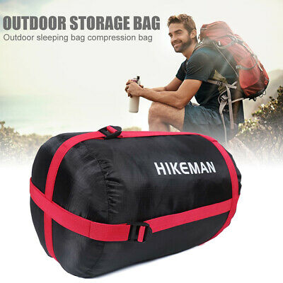 £4.19 • Buy Outdoor Compression Stuff Sack Sleeping Bag Storage Package For Camping