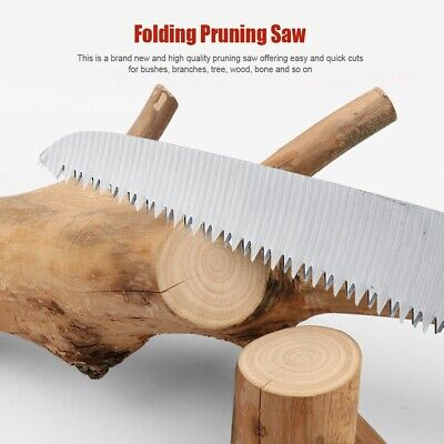 £8.99 • Buy Garden Saw Fast Cut Easy Branch Trimming Pruning Tree Shaping Cutting Tool UK