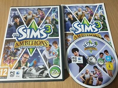 The Sims 3 - Ambitions Pc Game! With Manual And Genuine Key,  Uk • 4.49£