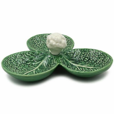 Set Cauliflower & Cabbage Hand Painted Made In Portugal Original Pottery Ceramic • 16.95£