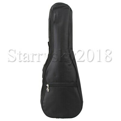 AU32.27 • Buy 23 Inch Ukulele Carrying  Case Soft Cloth Concert Carry Gig Bag Black