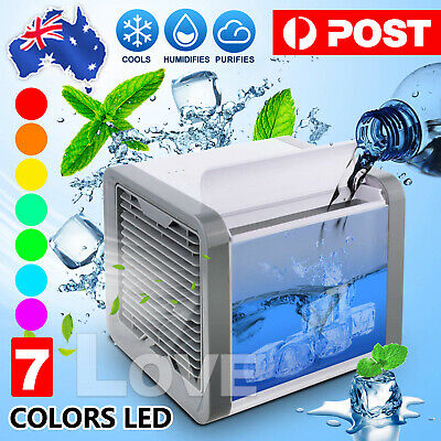 AU19.95 • Buy NEW Portable Mini Air Conditioner Cool Cooling For Bedroom Cooler Fan
