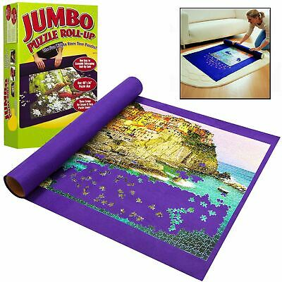 £7.95 • Buy NEW Giant Jumbo Jigsaw Roll Up Puzzle Store Storage Mat Tube Up To 3000 Pieces