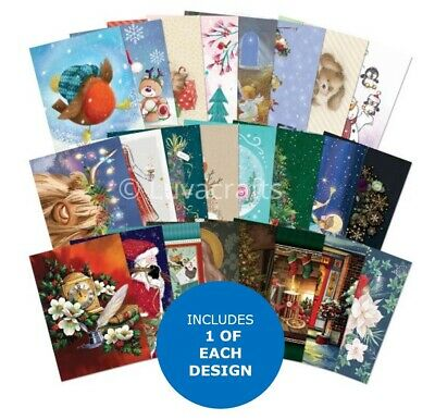 Hunkydory The Fifth Little Book Of Christmas Sample Pack 24 Pages X A6 • 2.99£