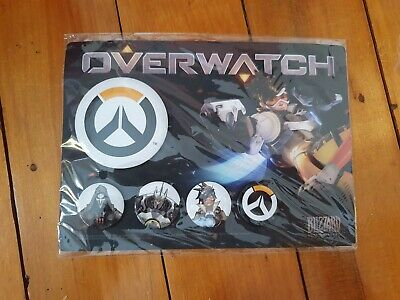 AU30 • Buy Overwatch Preorder Button Set - Official Merchandise