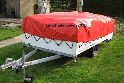 CONWAY SUNCAMP TRAILER COVER New In RED • 128£