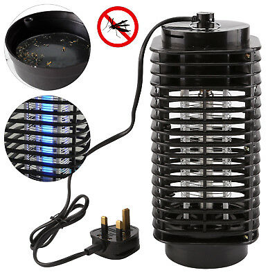 Electric UV Light Mosquito Killer Insect Grill Fly Bug Zapper Trap Catcher Lamp • 7.99£
