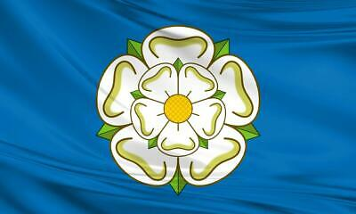 Large Yorkshire Flag 5ftx3ft English British County 5x3 Polyester Cycling Tour  • 5.49£