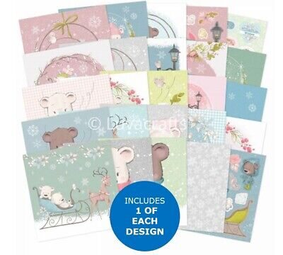 Hunkydory Christmas The Square Little Book Of Snow Adorable Sample Pack 25 Pages • 2.79£