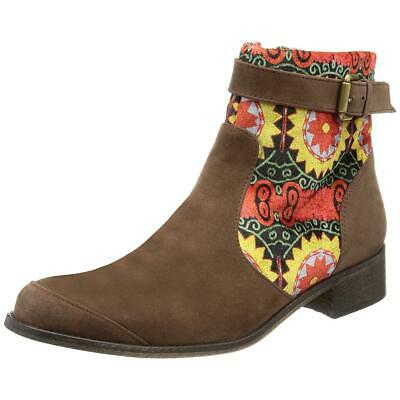 £55.95 • Buy Desigual Mas-2 Women's Brown Riding Ankle Boot