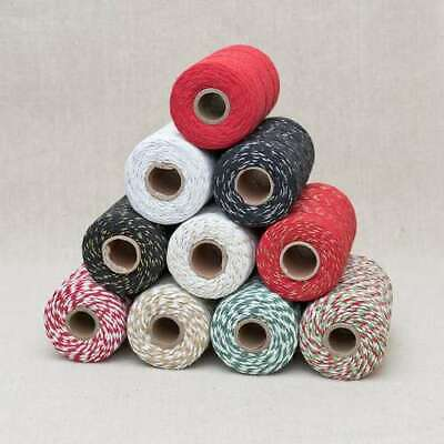 £1.65 • Buy Bakers Twine Wedding Party Crafts Cord String Ribbon 2mm FREE P&P