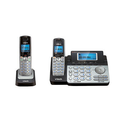 $ CDN145.11 • Buy VTECH DS6151/DS6101 Dect 6.0 2 Line Cordless Phone With Answering And Addtl H...