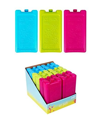 3PCS Freezer Ice Block Cooler Reusable 500g Assorted For Picnic Travel Lunch Box • 6.99£