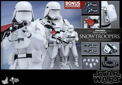 $ CDN565.65 • Buy Hot Toys Star Wars Episode VII Force Awakens Snowtroopers Figures NEW - MMS 323