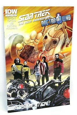 Star Trek Doctor Who Assimilation 2 Squared #4 A 4A 2012 Comic IDW Comics VF • 3.44£