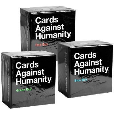 AU39.95 • Buy Cards Against Humanity New Expansion Boxes