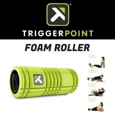 AU69.95 • Buy Trigger Point EVA Foam Roller GRID Gym Training Therapy Muscle Pain Relief GREEN