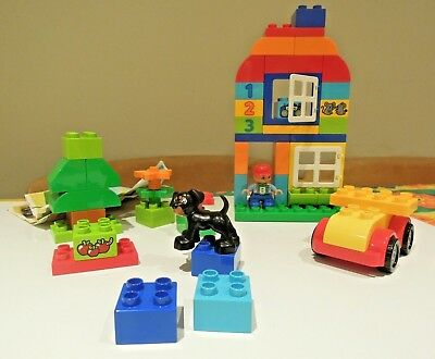 Lego Duplo COMPLETE SET No.10572 Without Box With Minifigure +Dog • 14.99£
