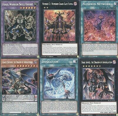 Yugioh Battle Of Legends Armageddon Single Cards 1st Edition Choose From All! • 0.99£