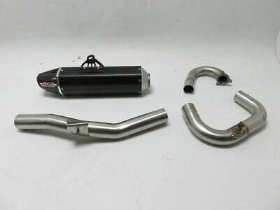 AU844.77 • Buy Yamaha YZ450F 2014-2017 Rocket Exhaust Full System Stainless Steel Aluminum