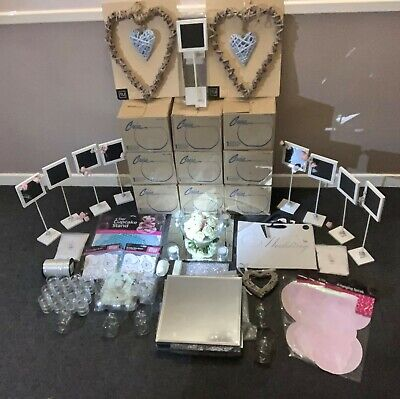 Wedding Bundle - Glass Fish Bowls - Mirror Bases - Centre Pieces - Tea Lights • 150£