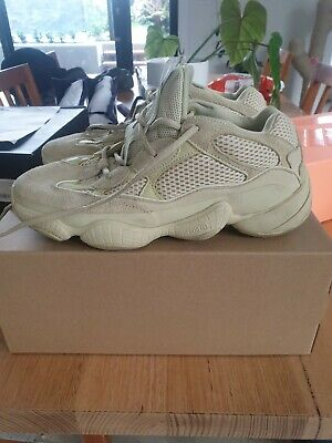 AU270 • Buy Adidas Yeezy 500 Super Moon Yellow US 10 UK 9.5 Pre Owned Good Condition