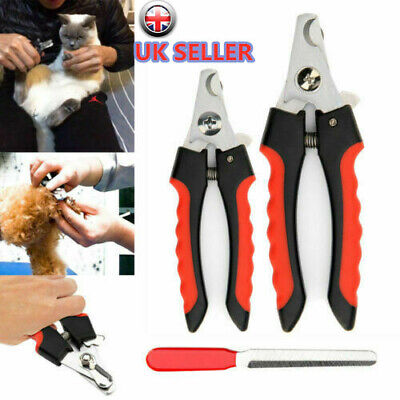 £4.45 • Buy Pet Nail Clippers Cat Dog Rabbit Sheep Animal Claw Trimmer Grooming Large Small