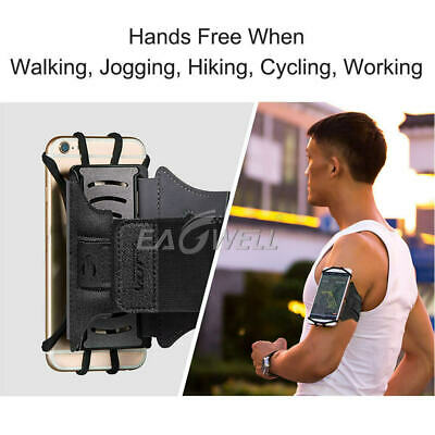 AU25.23 • Buy Universal Sport Arm Band Cell Phone Holder Running Jogging Gym Arm Band Bag Case