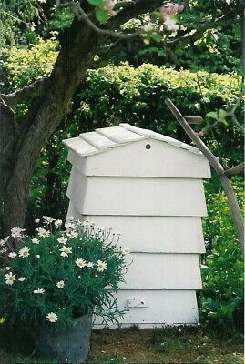 Beehive Garden Tidy/Compost Bin Hand Made To Look Like A Victorian WBC Beehive • 160£