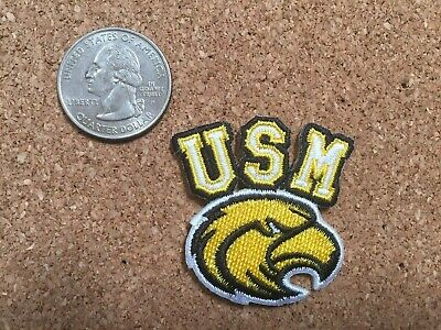 $2.49 • Buy University Of Southern Mississippi Golden Eagles Embroidered Logo Iron-On Patch
