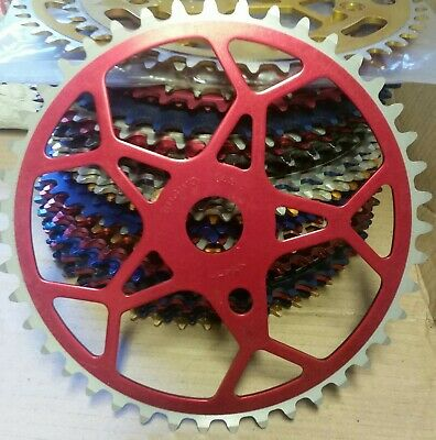 Sugino Chainring 43t Used Old School Bmx Pk Ripper Torker Haro Mongoose  • 150£