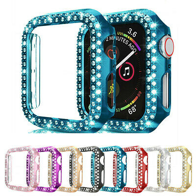 $ CDN4.15 • Buy For Apple Watch IWatch Series 5/4/3/2 Diamond Hard Case Protective Bumper Cover