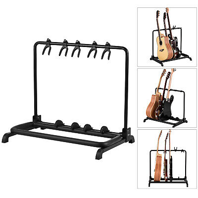$ CDN212.64 • Buy Foldable Multi Guitar Stand 5 Holders For Guitar Display Storage S7H2