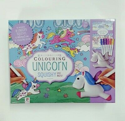 AU19.50 • Buy Kaleidoscope Colouring Unicorn Squishy And More Kit