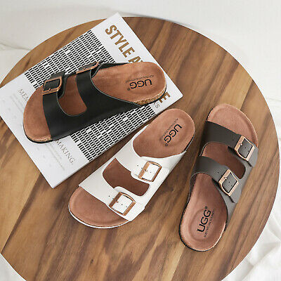 AU46.99 • Buy 【SALE】AS UGG Summer Beach Slip-on Flats Mick Sandals Comfortable Slippers