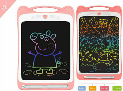 £10.95 • Buy 12  LCD Message Doodle Pad Writing Board Kids Painting Drawing Tablet+Stylus Pen