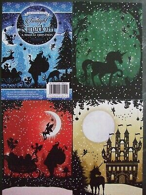 Hunkydory 24mix Toppers  Twilight Kingdom A Magical Christmas  See Pics See Desc • 2.75£