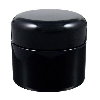 Miron Violet Glass Wide Neck Cosmetic/Herb Jar 30ml (Standard) With Black Lid • 4.99£