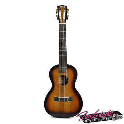 AU109 • Buy Mahalo MJ33TS Java Series Tenor Ukulele In 3 Tone Sunburst Gloss With Carry Bag